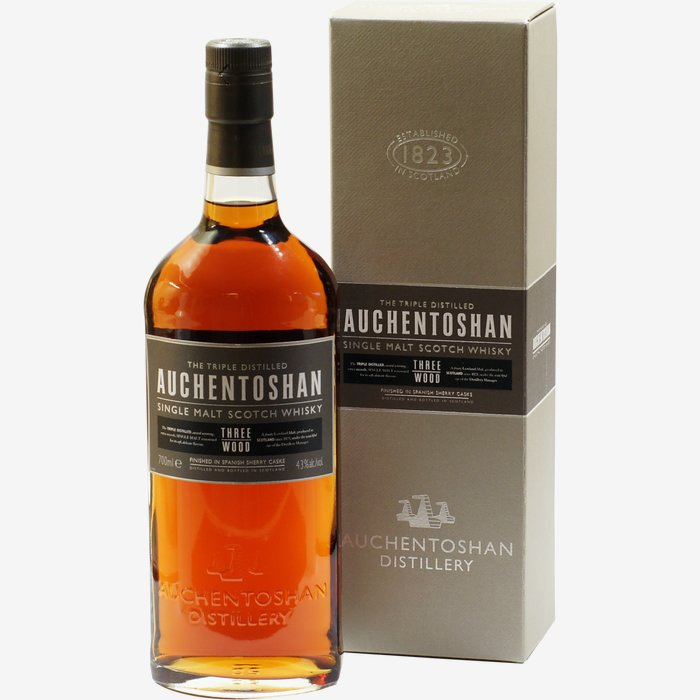 Auchentoshan Whisky Three Wood