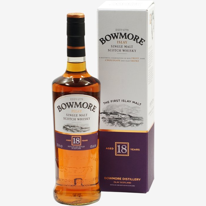 Bowmore Whisky 18 Jahre